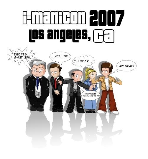I-ManiCon 2007 T-Shirt Design