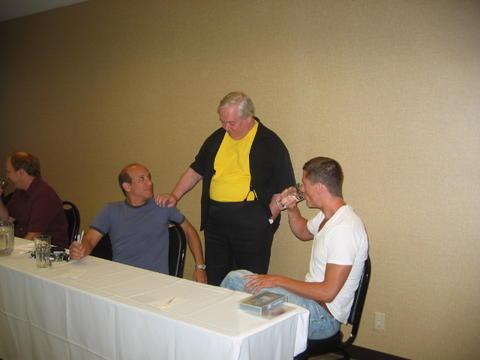 Vince, Paul, Eddie and Mike