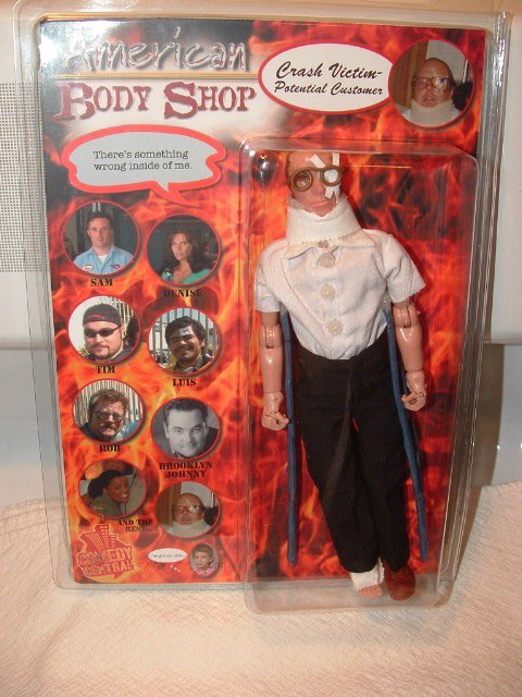 American Body Shop Action Figure
