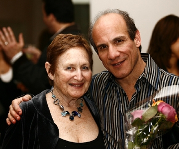 Paul and His Mother, Leah Kornfeld Friedman